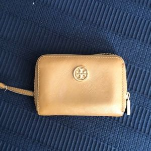 Tory Burch small wallet with key attachment